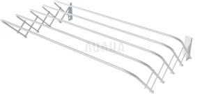 Сушилка для белья настенная раздвижная, 0,6 м
